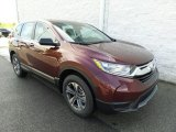 2017 Basque Red Pearl II Honda CR-V LX AWD #121248749