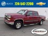 2006 Sport Red Metallic Chevrolet Silverado 1500 LT Crew Cab 4x4 #121246044