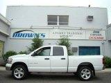 2007 Bright White Dodge Ram 1500 Big Horn Edition Quad Cab 4x4 #12120438