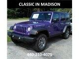 2017 Extreme Purple Jeep Wrangler Unlimited Rubicon 4x4 #121245213