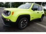 2017 Hypergreen Jeep Renegade Sport #121246910