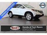 2014 White Diamond Pearl Honda CR-V EX AWD #121248704
