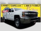 2017 Summit White Chevrolet Silverado 2500HD Work Truck Double Cab 4x4 #121258964