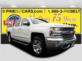 2017 Iridescent Pearl Tricoat Chevrolet Silverado 1500 LTZ Crew Cab 4x4 #121258962