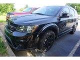 2014 Pitch Black Dodge Journey SXT #121247835