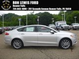 2017 Ingot Silver Ford Fusion SE #121246865
