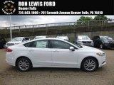 2017 Oxford White Ford Fusion SE #121246864