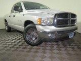 2004 Bright Silver Metallic Dodge Ram 1500 SLT Quad Cab #121249578