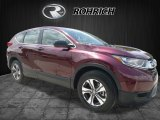2017 Basque Red Pearl II Honda CR-V LX AWD #121246853