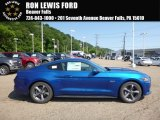 2017 Lightning Blue Ford Mustang GT Coupe #121247786