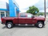 2017 Butte Red Metallic Chevrolet Silverado 2500HD LT Crew Cab 4x4 #121246846