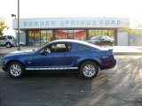 2009 Vista Blue Metallic Ford Mustang V6 Coupe #12136154