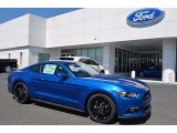 2017 Lightning Blue Ford Mustang GT Premium Coupe #121245926
