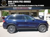 2017 True Blue Pearl Jeep Grand Cherokee Limited 4x4 #121245117