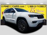 2017 Bright White Jeep Grand Cherokee Trailhawk 4x4 #121246800