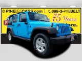 2017 Chief Blue Jeep Wrangler Unlimited Sport 4x4 #121246799