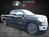 2017 Midnight Black Metallic Toyota Tundra Limited Double Cab 4x4 #121247731