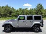 2017 Billet Silver Metallic Jeep Wrangler Unlimited Rubicon 4x4 #121245056