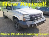 2006 Silver Birch Metallic Chevrolet Silverado 1500 LT Extended Cab 4x4 #121258775