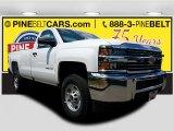 2017 Summit White Chevrolet Silverado 2500HD Work Truck Regular Cab 4x4 #121245831
