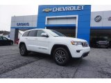 2017 Bright White Jeep Grand Cherokee Limited #121247681
