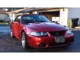 2003 Redfire Metallic Ford Mustang Cobra Convertible #121245044