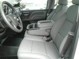 2017 Chevrolet Silverado 1500 WT Crew Cab 4x4 Dark Ash/Jet Black Interior