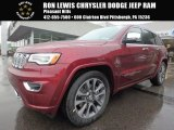 2017 Velvet Red Pearl Jeep Grand Cherokee Overland 4x4 #121258764