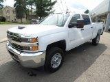2017 Summit White Chevrolet Silverado 2500HD Work Truck Crew Cab 4x4 #121249419