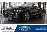 2017 Shadow Black Ford Mustang EcoBoost Premium Convertible #121245021