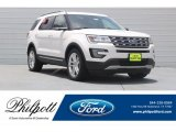 2017 White Platinum Ford Explorer XLT #121247657