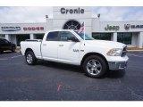 2017 Bright White Ram 1500 Big Horn Crew Cab #121247651