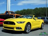 2017 Triple Yellow Ford Mustang GT Premium Convertible #121245784