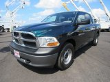 2011 Hunter Green Pearl Dodge Ram 1500 SLT Crew Cab 4x4 #121246611