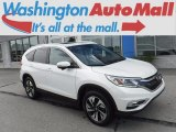 2016 White Diamond Pearl Honda CR-V Touring AWD #121248395