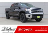 2017 Midnight Black Metallic Toyota Tundra SR5 CrewMax 4x4 #121258694