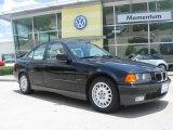 1995 Cosmos Black Metallic BMW 3 Series 325i Sedan #12132227