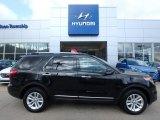 2014 Tuxedo Black Ford Explorer XLT 4WD #121246550