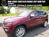 2017 Velvet Red Pearl Jeep Grand Cherokee Limited 4x4 #121248364