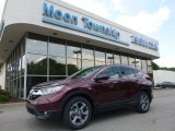 2017 Basque Red Pearl II Honda CR-V EX-L AWD #121246535