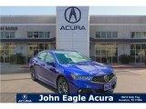 2018 Still Night Blue Pearl Acura TLX V6 A-Spec Sedan #121257885