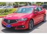 2018 Acura TLX V6 A-Spec Sedan Front 3/4 View