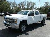 2017 Summit White Chevrolet Silverado 2500HD Work Truck Crew Cab 4x4 #121245703