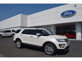 2017 White Platinum Ford Explorer Limited #121258645