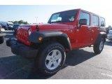 2017 Firecracker Red Jeep Wrangler Unlimited Sport 4x4 #121258630