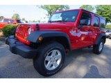 2017 Firecracker Red Jeep Wrangler Unlimited Sport 4x4 #121258626