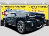 2017 Black Chevrolet Silverado 1500 LTZ Crew Cab 4x4 #121257865