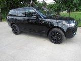 2017 Santorini Black Metallic Land Rover Range Rover HSE #121247536