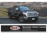 2017 Midnight Black Metallic Toyota Tundra Limited CrewMax 4x4 #121248317