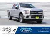 2017 Ingot Silver Ford F150 Lariat SuperCrew 4X4 #121247528